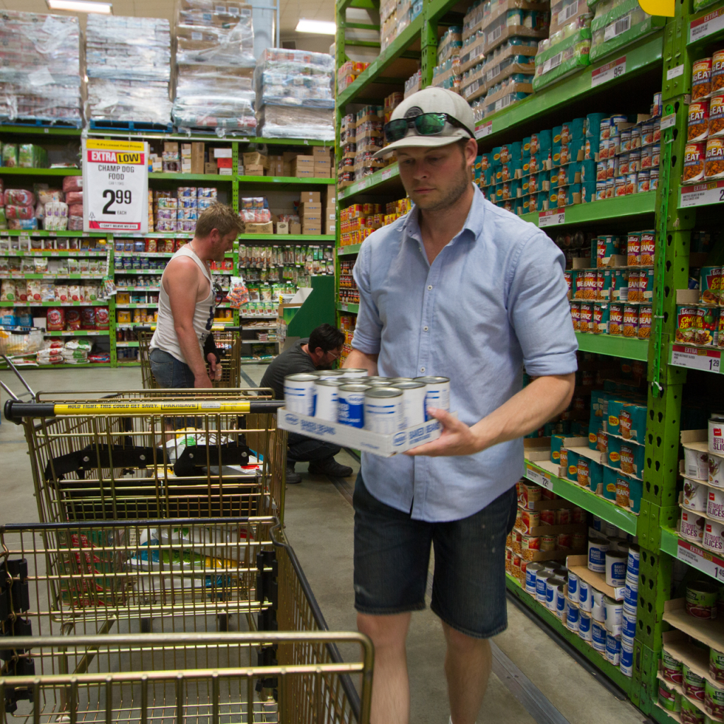 Canned food for Auckland City Mission - Corey Blackburn Photographer